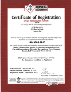Certificate ISO-0708