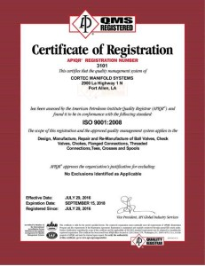 Certificate ISO-3101