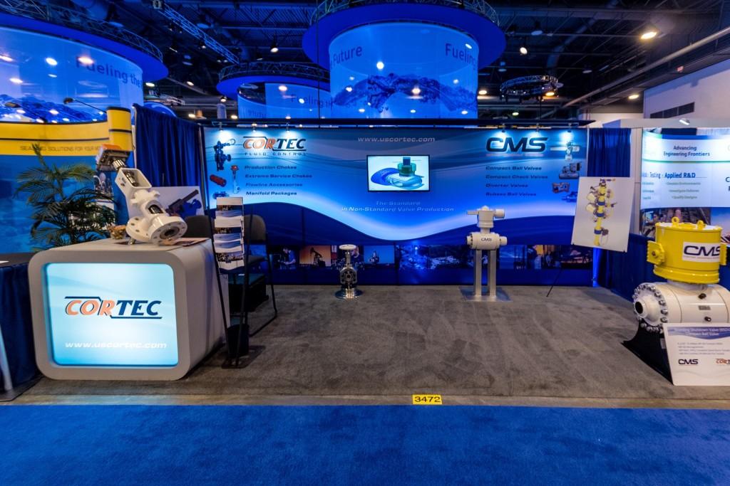 CORTEC trade show booth